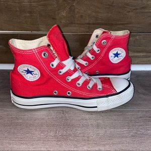 Classic Red High Top Converses